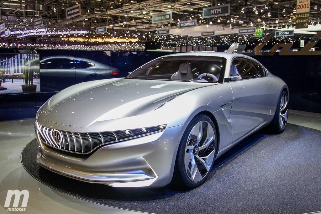 Pininfarina HK GT Concept: lujo asiático y cero emisiones debutan en el Salón de Ginebra 2018