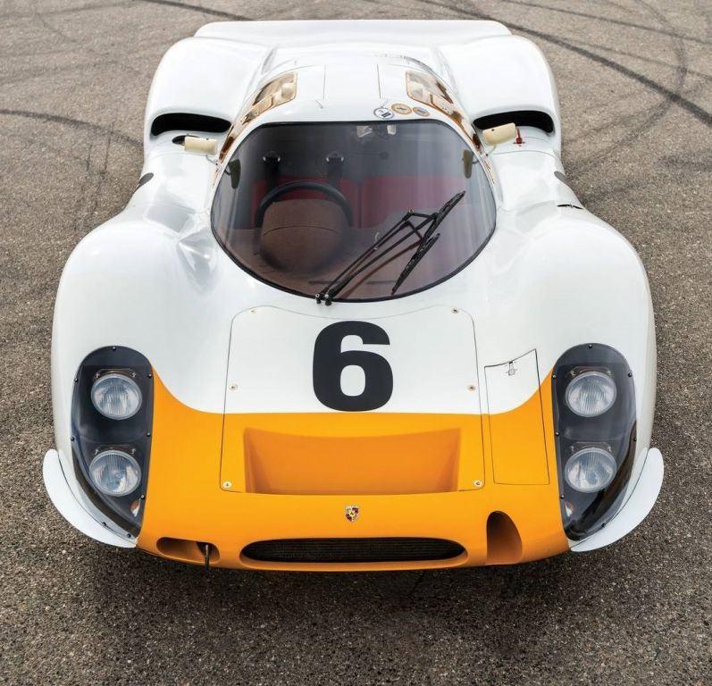 Uno de los cinco Porsche 908 K supervivientes a subasta