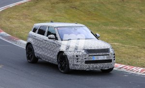 El nuevo Range Rover Evoque 2019 también se deja ver por Nürburgring