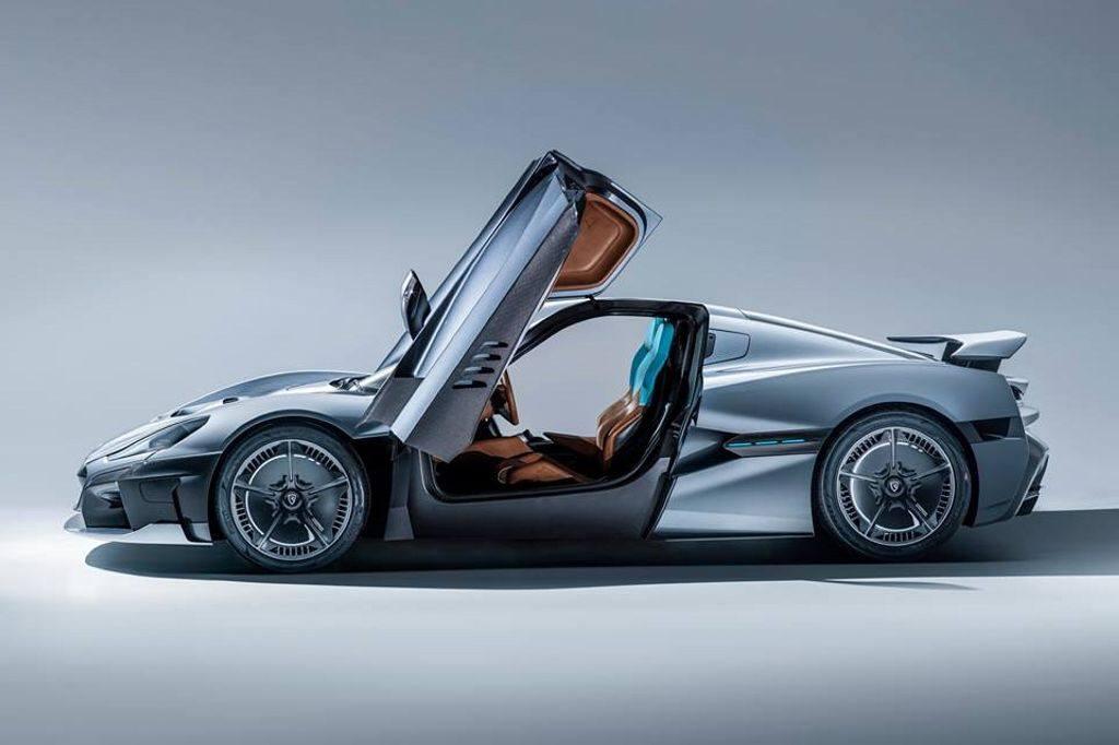 Rimac C_Two: más de 1.900 caballos y conducción autónoma de nivel 4