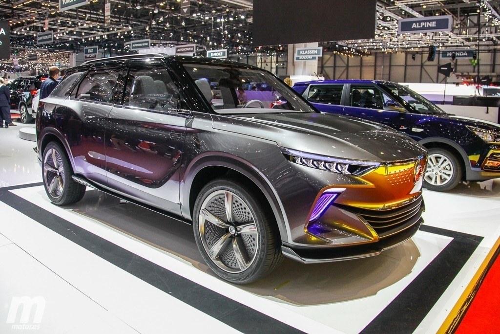 El nuevo SsangYong e-SIV Concept adelanta el primer eléctrico de la marca coreana
