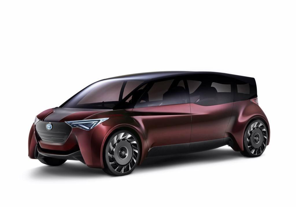 Toyota FINE-Comfort Ride Concept estrena la pila de hidrógeno con mayor autonomía