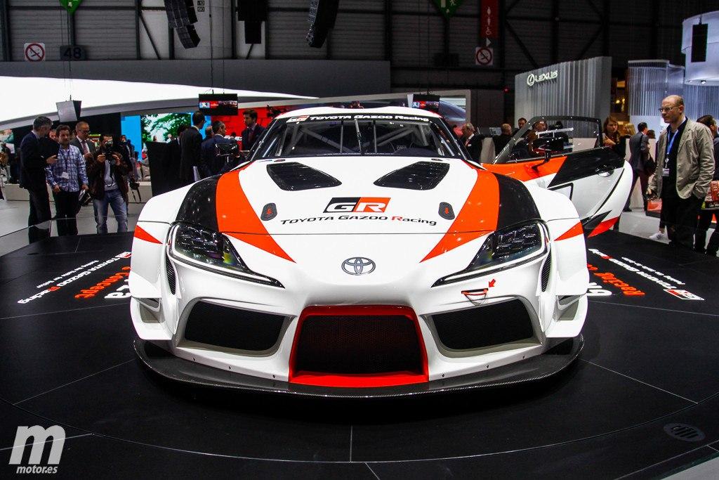 Así es el Toyota GR Supra Racing Concept visto en Ginebra 2018