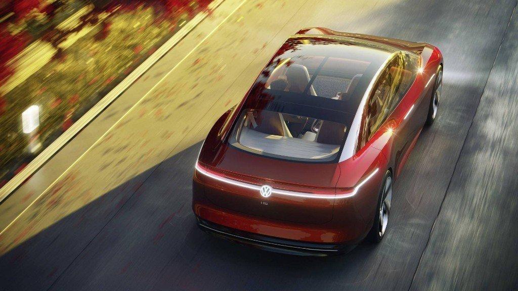 Volkswagen I.D. Vizzion, así es su berlina eléctrica del futuro