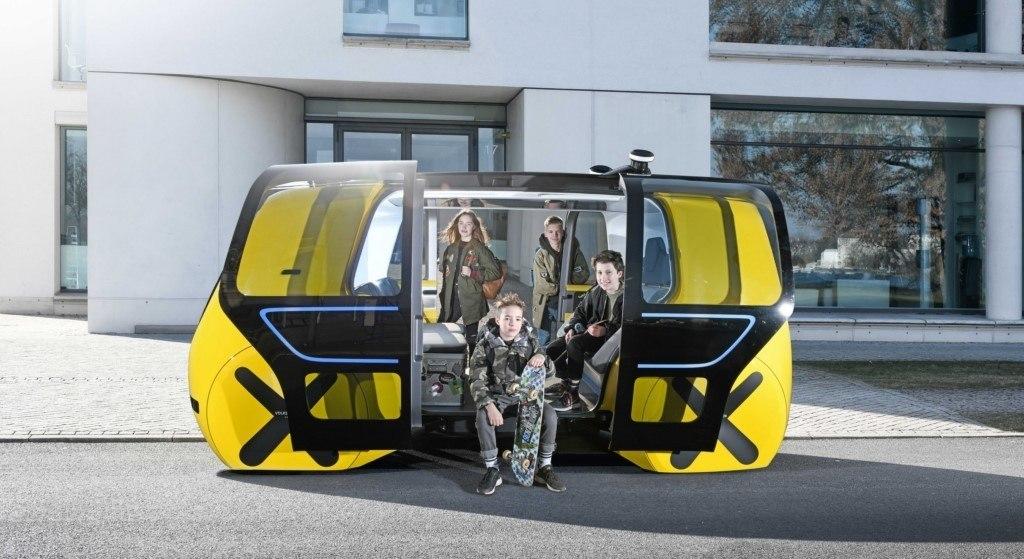 Volkswagen Sedric: el concepto de movilidad sostenible de transporte colectivo debuta en el Salón de Ginebra
