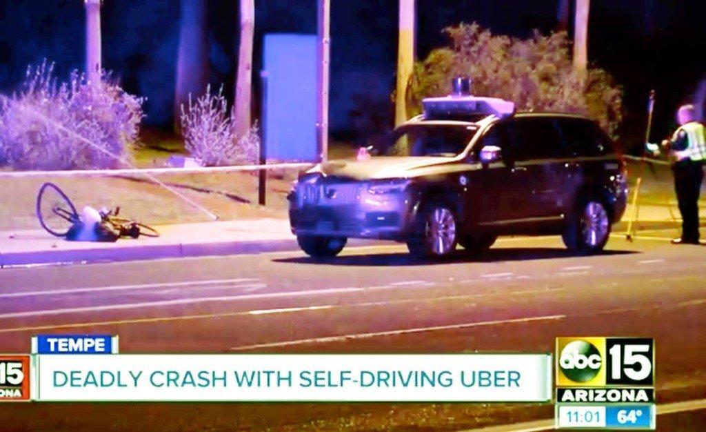 """Accidente UBER: ¿Podría un Volvo """"normal"""" haber salvado a la peatona imprudente?"""