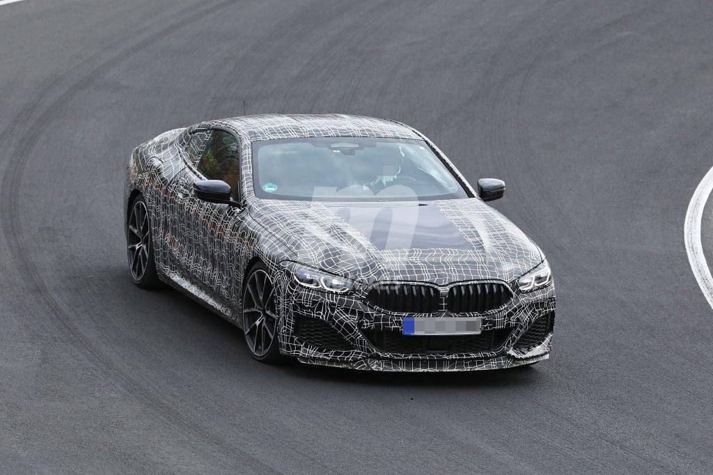 Cazado el BMW Serie 8 pack M al mínimo de camuflaje en Nürburgring