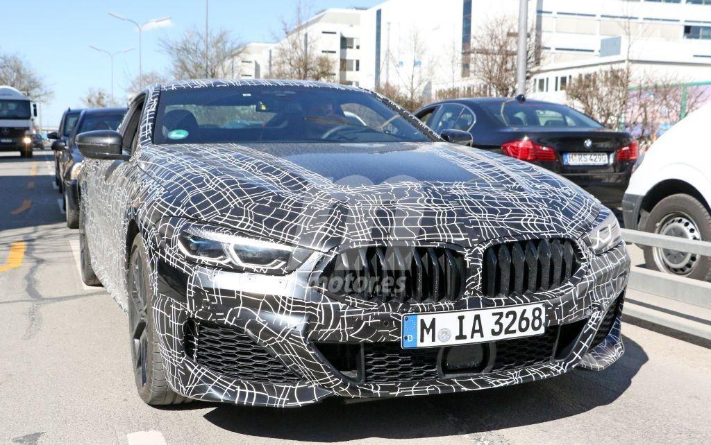 El nuevo BMW Serie 8 Coupé M Sport deja ver más detalles de su exterior y su interior