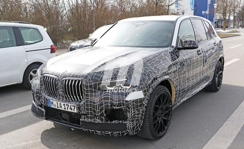El nuevo BMW X5 M 2019 al detalle en estas fotos espía