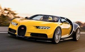 Bugatti Chiron Grand Sport: así se vería la versión abierta del Chiron