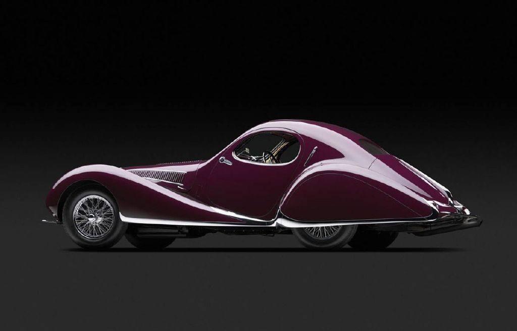 """""""The Shape of Speed"""": inusual exposición de vehículos clásicos Art Déco"""