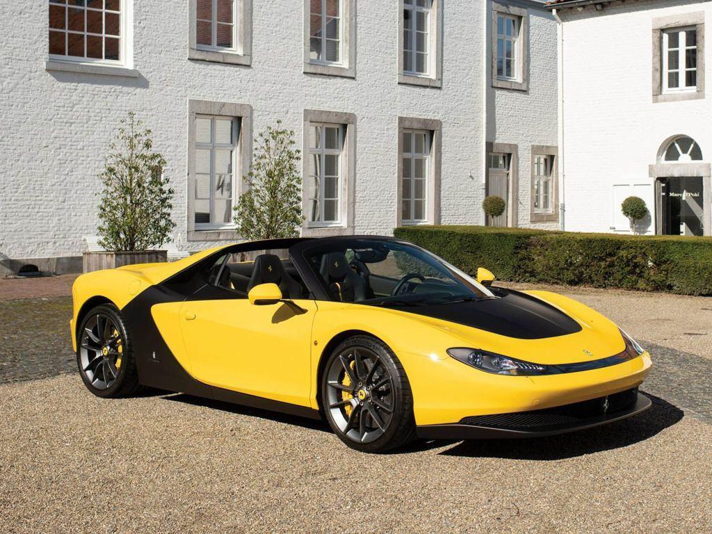 El primer Ferrari Pininfarina Sergio vuelve a estar a la venta