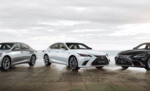 El nuevo Lexus ES llegará a Europa en 2018 con tres versiones y acabado F SPORT