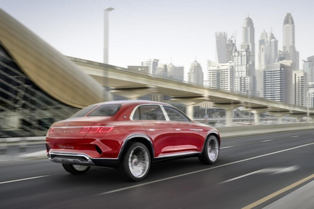Foto Vision Mercedes-Maybach Ultimate Luxury - exterior