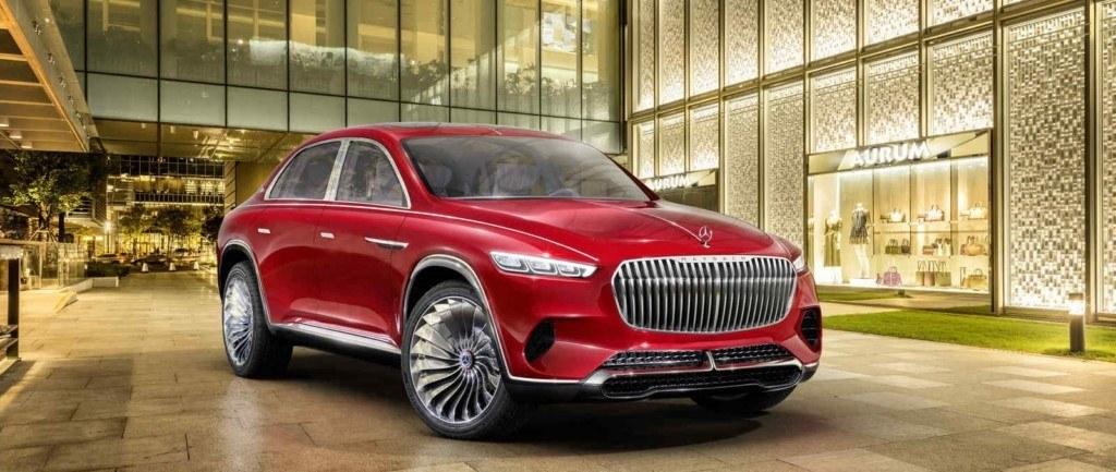 Vision Mercedes-Maybach Ultimate Luxury, el anticipo del crossover de lujo debuta en el Salón de Pekín
