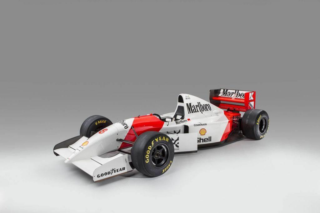 El McLaren con el que Senna ganó su último GP de Mónaco a subasta