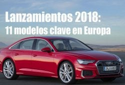 Analizamos las ventas de once nuevos modelos clave en el mercado europeo en 2018