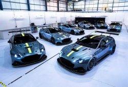 Aston Martin presenta los 7 ejemplares del Vantage AMR Pro de edición limitada