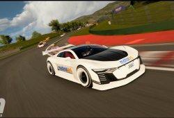 Audi e-tron Vision Gran Turismo, lo probamos en GTSport (con vídeo)