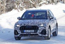 Nuevas fotos espía desvelan el interior de la nueva generación del Audi Q3