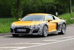 Audi R8 V6: nuevas imágenes de la futura versión de acceso del R8