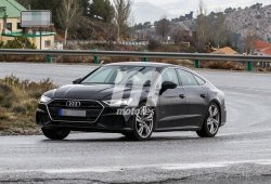 El esperado Audi S7 Sportback 2018 pierde el camuflaje en el sur de Europa