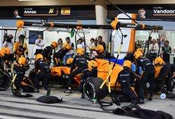 """Boullier: """"Después de la dura clasificación, conseguir puntos en Sakhir es agradable"""""""