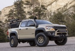 Chevrolet Colorado ZR2 Bison: nueva versión off-road extrema del ZR2