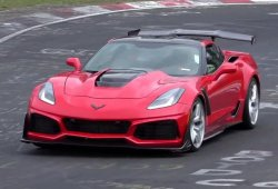 El Chevrolet Corvette ZR1 ya va a por el crono en Nürburgring