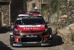 Citroën Racing gasta un 'joker' en el chasis del C3 WRC