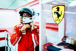 """Vettel comanda el doblete de Ferrari: """"Ha sido muy intenso"""""""