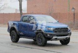 La versión de producción del nuevo Ford Ranger Raptor cazada en la calle