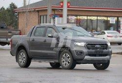Cazado el nuevo Ford Ranger Wildtrak en su formato definitivo
