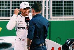 Hamilton valora que parte de la ventaja de Ferrari se debe al diseño del DRS