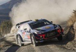 El Hyundai i20 WRC Coupé estrena motor en Argentina