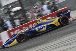Incontestable triunfo de Alexander Rossi en Long Beach