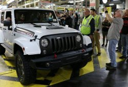 Fabricado el ultimo Jeep Wrangler JK, la generación más vendida de la historia