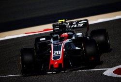 Según Magnussen, la clave de la velocidad del Haas está en el agarre del eje trasero