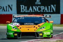 El Lamborghini #63 gana en Zolder, Riberas sube al podio