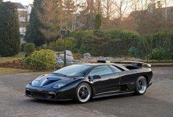 Uno de los raros y radicales Lamborghini Diablo GT casi nuevo a subasta
