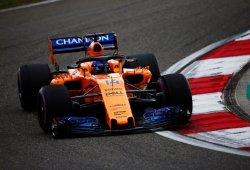 McLaren expone su candidatura en los libres del viernes en Shanghái