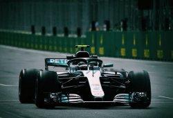 Mercedes se sitúa un paso por detrás de Ferrari y Red Bull en los libres de Bakú