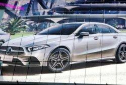 El nuevo Mercedes Clase A Sedán filtrado al completo desde China