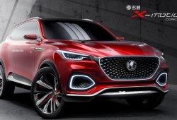El nuevo MG X-Motion Concept debuta en el gigante asiático