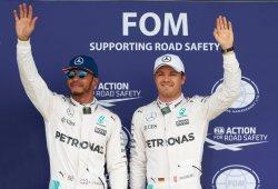 """Rosberg: """"Los rivales de Hamilton deben aprovechar, porque siempre vuelve"""""""