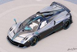 Pagani Huayra L'Ultimo: el último ejemplar se inspira en los Mercedes de F1