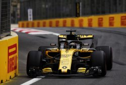 Con Hülkenberg y Grosjean sancionados, así queda la parrilla del GP de Azerbaiyán