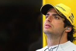 """Sainz se queda sin puntos: """"He ido toda la carrera en tráfico"""""""