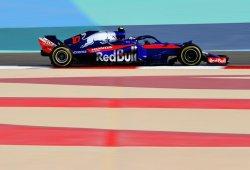 Toro Rosso asalta en los libres de Sakhir la zona noble de la parrilla