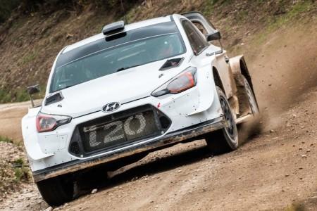 Hyundai y Toyota inician los test del Rally de Argentina